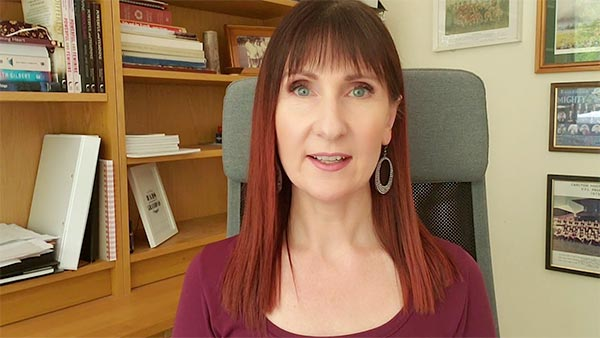 Rachael speaking about the #1 key to mastering fear and eradicating self-judgement - video clip